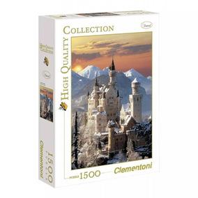Quebra Cabeça Clementoni 1500 Pçs Castelo De Neuschwanstein
