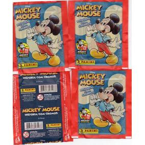 40 Envelopes Mickey Mouse 90 Anos 200 Figurinhas E 40 Cards