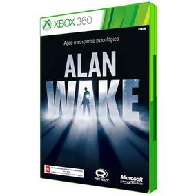 Game Alan Wake Xbox 360 Dvd Mídia Física Lacrado Cd Original