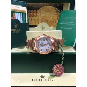 580a5a131f4 Rolex Day-date De Ouro Rosa - Joias e Relógios no Mercado Livre Brasil
