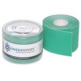 Bandagem Elástica Adesiva Verde Kinesiosport 5cmx5mts