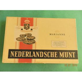 Antigua Caja De Cigarros Nederlandsche Munt Marianne
