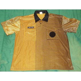 Camiseta Jersey Arbitro Soccer Talla L Grande Adulto