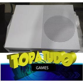 Xbox One S Branco 1tb Microsoft Lacrado Loja Bh Jogo Brinde