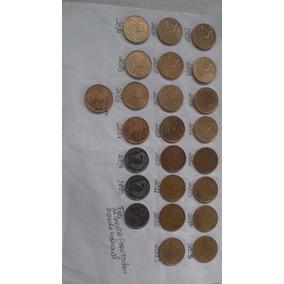 Coleção Completa De Moedas De 25 Centavos..