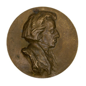 Frederic Chopin Medalha Comemorativa Assinada