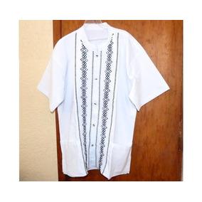 Camisas De Chiapas Talla Xl / Blancas / Presidencial / Manta