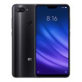 Celular Xiaomi Mi 8 Lite Black 64gb-4gb + Película+ Brinde