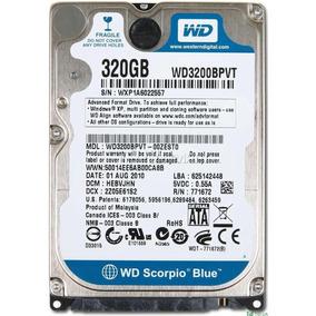 Hd 320gb Sata 3gb/s 5400rpm Wd Blue Notebook Xbox Ps4 Wii