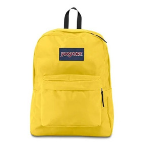 Mochila Jansport Superbreak Yellow 11349 Original