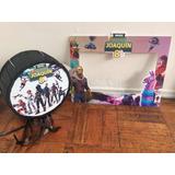 Piñata 40cms Y Marco Selfie Pequeño Personalizada