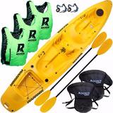 Kayak Rocker Warrior 3 Salvavidas 2 Asientos Bolso Estanco