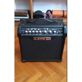 Amplificador Line 6, 15 W + Afinador Korg + Capotraste