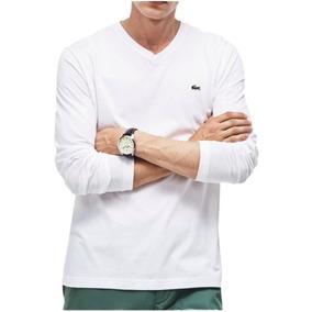 Camiseta Manga Longa Lacoste - Calçados, Roupas e Bolsas no Mercado ... 9472e96b28