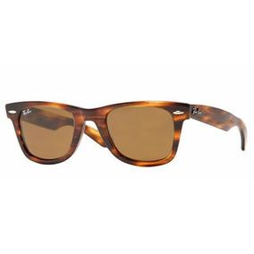Ray Ban 2140 Wayfarer Marrom Fosco - Óculos no Mercado Livre Brasil 512efc9e48