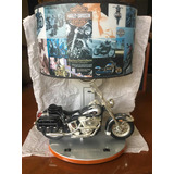 Harley Davidson Lámpara Decorativa Motor Cycles
