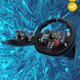 Nw Volante + Pedales Logitech G29 Driving Force Ps3 Ps4 Pc