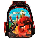 Mochila Escolar Angry Birds Abm800401 - Santino