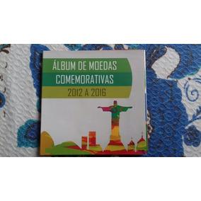 Album Moedas Olimpicas