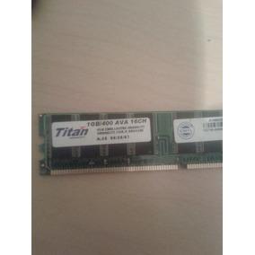 Memoria Ram Ddr400 1gb Pc Usada