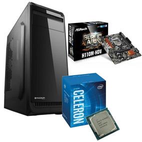 Pc Oficina Intel Dual Core 4gb 1tb Hdd Fuente 500w