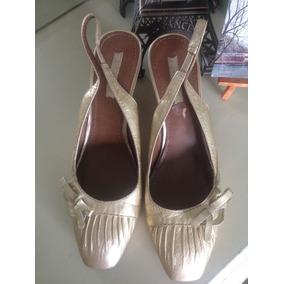 705e8870afea5 Zapato De Piel De Plataforma Corrida