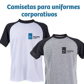 Camisas Raglan Personalizadas Logo Empresas Uniforme - 10 Pç 4932ea7cd60