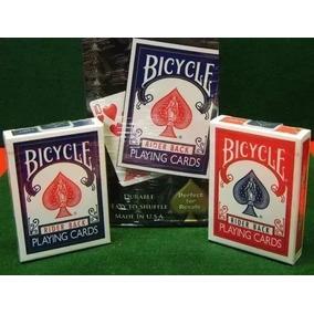 Baralho Kit 2 Baralhos Bicycle Rider Back Vermelho E Azul!