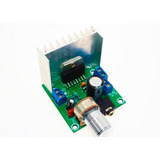 Amplificador Stereo Tda7297 2x15w - 12 Vcc - Potenciometro