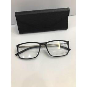 Armação De Óculos Masculino Em Policarbonato E Liga Leve - Óculos no ... cf7786f85b