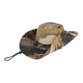 Camo Sombrero De Ala Ancha Pesca Cubo Bonnie Safari Gorra D eeb238742a8