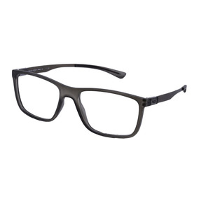 0132937ce0739 Oculos Masculino Grau Quadrado - Óculos Cinza escuro no Mercado ...