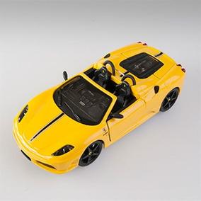 Miniatura Ferrari Scuderia Spider 2008 Amarela