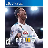 Fifa 18 Playstation4 (ps4) Sellado Fisico
