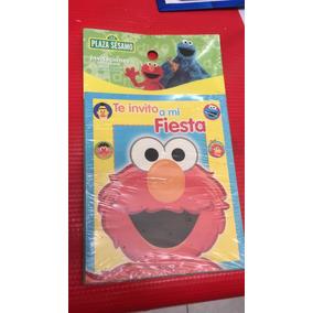 Invitaciones Fiesta Elmo 24 Pzs