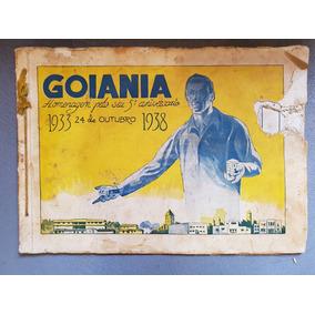 Impresso Comemorativo Ao 5º Aniversario De Goiânia De 1938