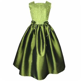 Vestidos de graduacion de kinder color verde menta