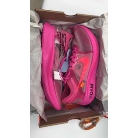 Nike Off White Zoom Fly Pink