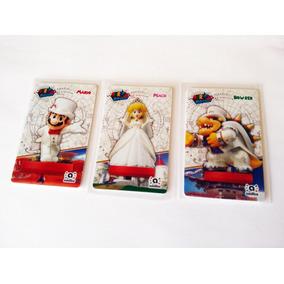 3 Tarjetas Nfc (super Mario Odyssey)