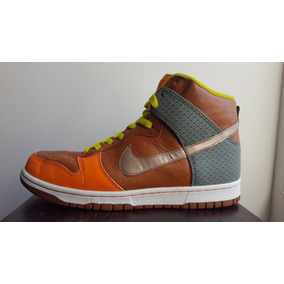 Nike Dunk High Premium Orange Blaze