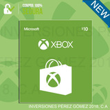 Tarjetas Xbox Store - 10, 20, 50 Puntos!