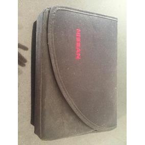 Capa Porta Manual Proprietário Original Nissan