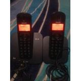 Teléfono Inalambrico Con Auxiliar, Phillips, Modelo Cd 150