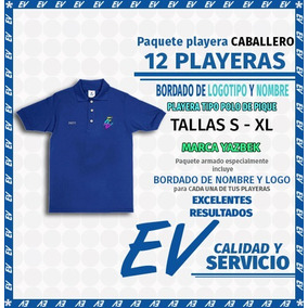 Paquete 12playerascaballero Blancas Polo Tipo Pique Bordadas 2c265e1afc298