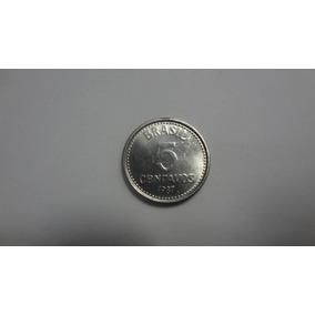 902- Lote De 50 Moedas 5 Centavo De 1987, Frete Gratis