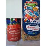 Tomate Pelado + Massa Infantil - Importados Da Itália