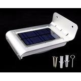 Lampara Solar Led Con Sensor De Movimiento Jardin Patio