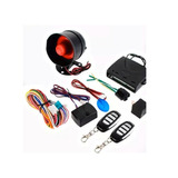 Kit Completo De Alarma Para Carro Con 2 Llaves Marca One