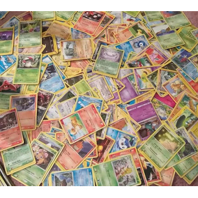 Lote 500 Cartas Pokémon Tcg Comum - Original Em Português