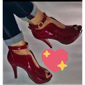 Tacones Rojos En Charol Mujer - Zapatos para Mujer en Mercado Libre ... 9d1b628a2544